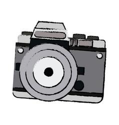 Camera technology photo travel equipment vector