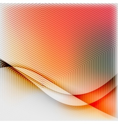 Textured blurred color wave background vector