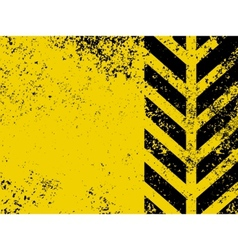 worn hazard stripe vector image