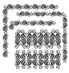 Decorative Ornate Frame vector image