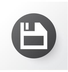 Diskette icon symbol premium quality isolated vector