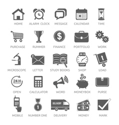 Icons for web and mobile applications vector