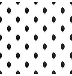 Plum leaf pattern vector