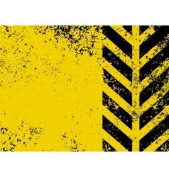Worn hazard stripe vector