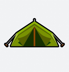Tent graphic vector