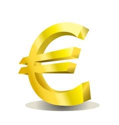 euro design vector image vector image