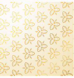 luxury vintage floral decoration background vector image vector image