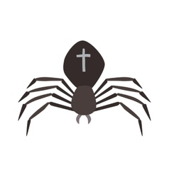 Spider Black Widow vector image vector image