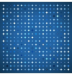 Abstract Background of Colored Stars vector image