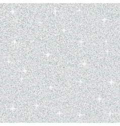 Abstract Silver Glitter Texture vector image