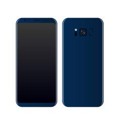 Concept realistic smartphone vector