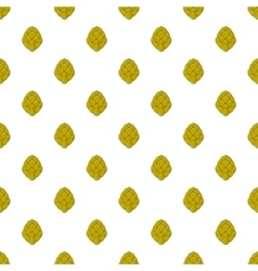 Hops pattern cartoon style vector