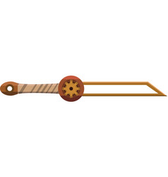 Mechanical sword vector