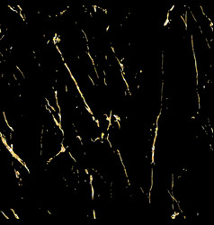 Black marble with gold flecks vector