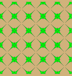 Star geometric seamless pattern 8408 vector