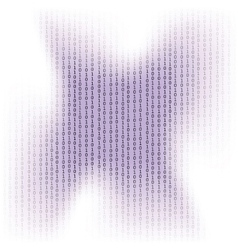 Binary code background concept vector