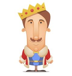 king vector image