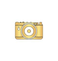 photo camera computer symbol vector image