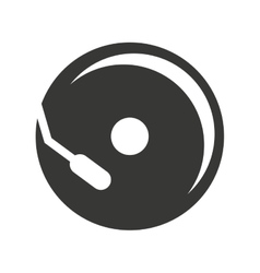 Cd player isolated icon design vector
