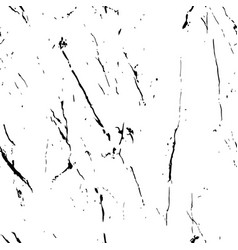 black and white marble texture seamless pattern vector image