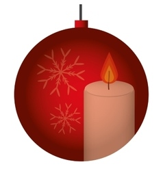 Christmas design Decoration icon Flat and vector image
