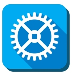 Clock Gear Icon vector image