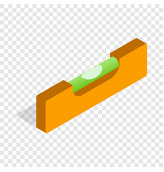 Level measurement isometric icon vector