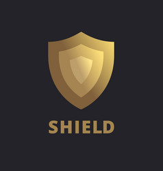Shield logo icon design template elements vector
