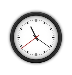 Simple round wall clock vector