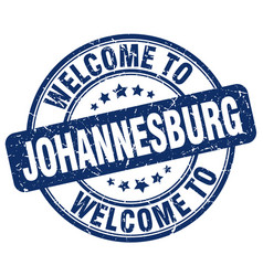 Welcome to johannesburg vector