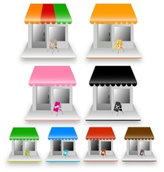 Colorful home vector