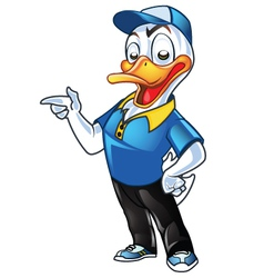 Employer duck vector