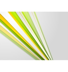 Abstract bright corporate stripes background vector image vector image