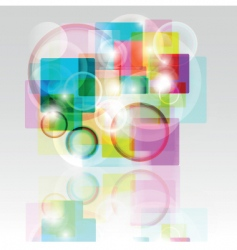 abstract print vector image vector image