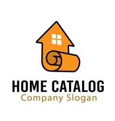 Home catalog design vector