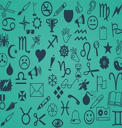 Miscellaneous icon pattern vector