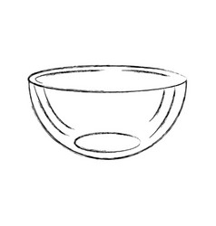 Kitchen vessel isolated icon vector