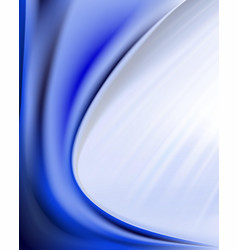 Blue wavy background vector