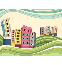 Colorful Landscape vector image