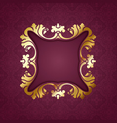 decorative pattern background vector image
