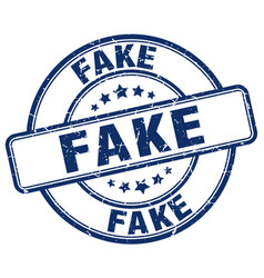 Fake stamp vector