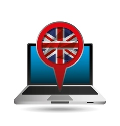 Online education london graphic vector