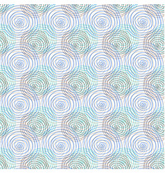 spiral seamless pattern repeating geometric vector image vector image