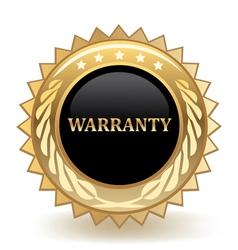 Warranty vector image vector image