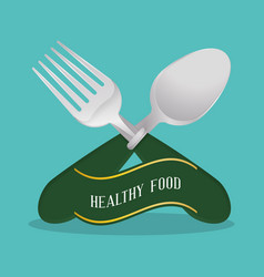Healthy food diet nutrition poster vector