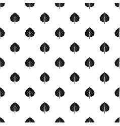 Alder leaf pattern vector