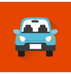 car vehicle icon vector image