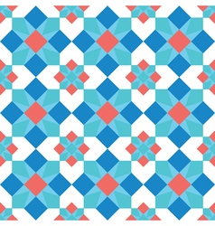 Mosaic background seamless pattern vector image vector image