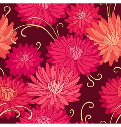 pattern pailsley dark vector image