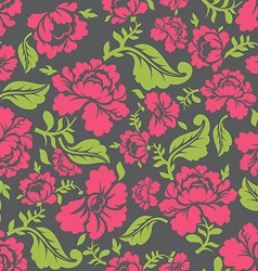Russian traditional floral pattern National vector image vector image